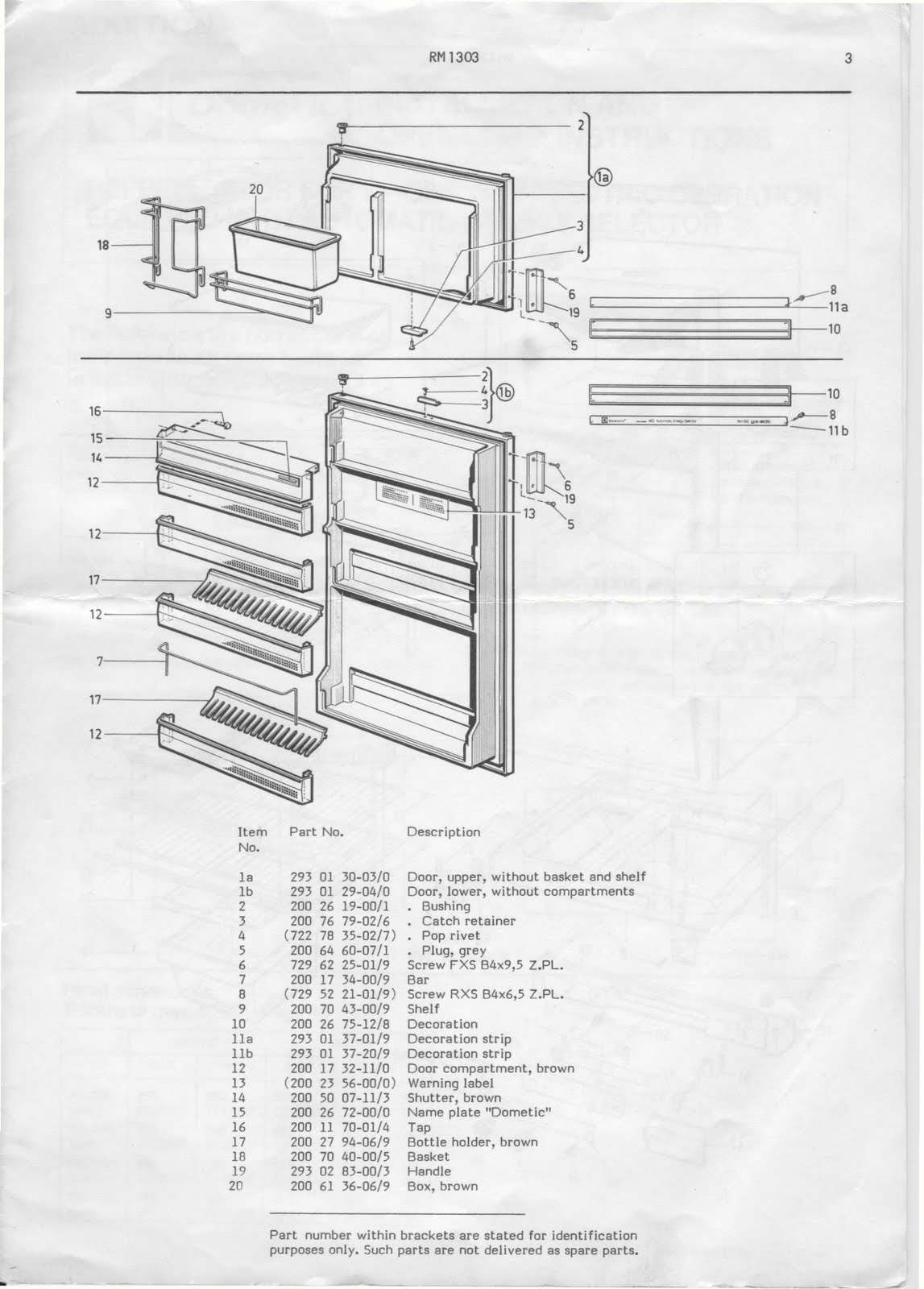 Rv Fridge Wiring Diagram Plant Leaf Cross Section 1983 Fleetwood Pace Arrow Owners Manuals Dometic